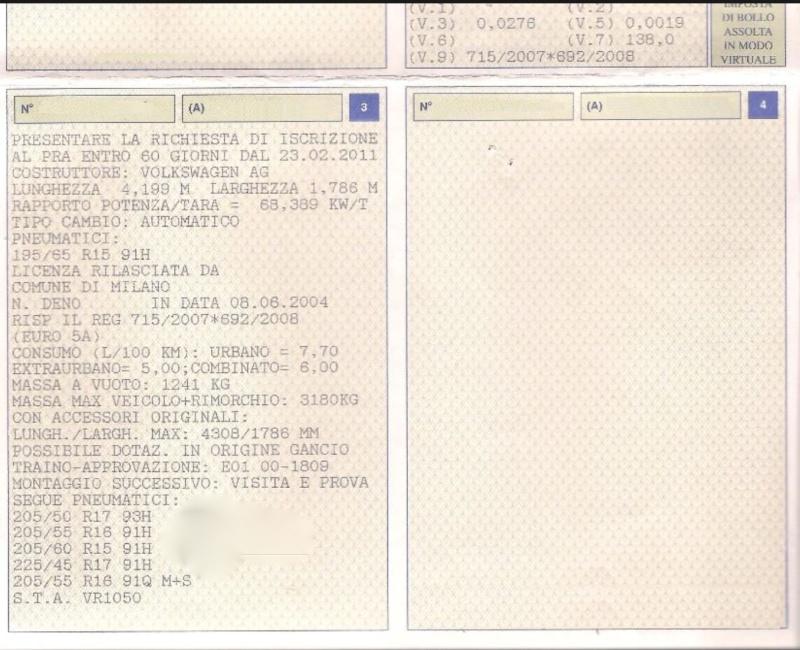 Nuova normativa gomme M+s con codice velocità inferiore - Pagina 6 Img_0110