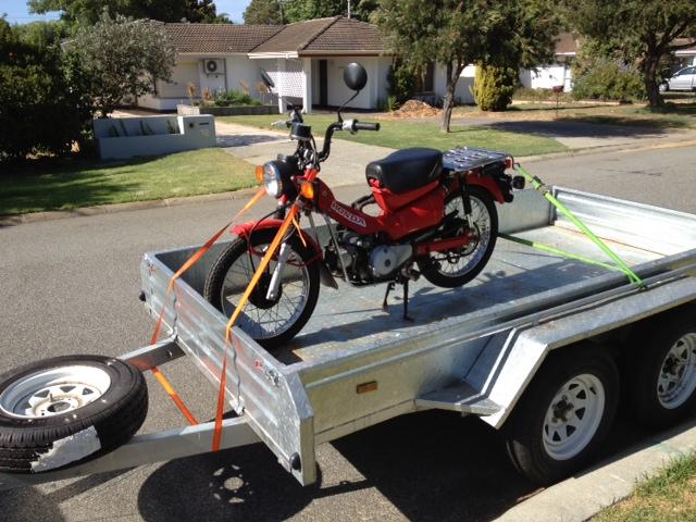 postie bike Bike11