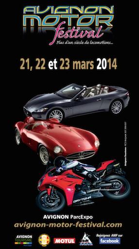 Du 21 au 23 mars 2014 : Avignon Motor Festival Captur65