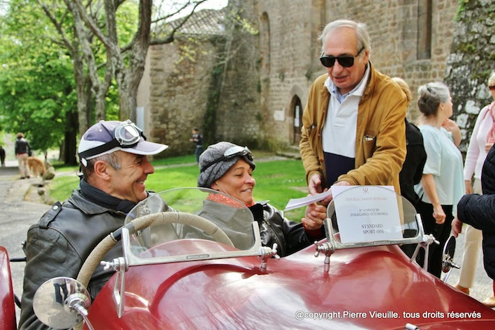 Concours d'élégance au Château Ste Roseline 83460 Chatea12
