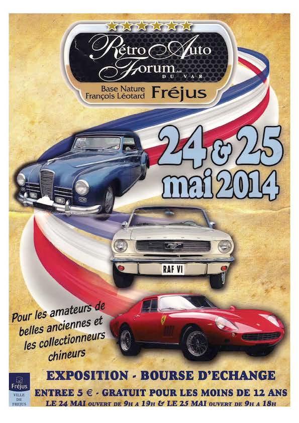 Retro Auto Forum du Var - 24-25/05/2014 à Fréjus Frejus10