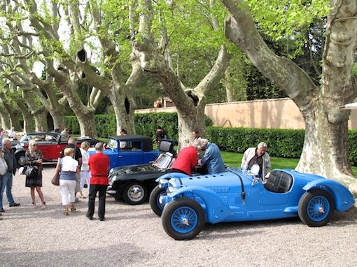 Concours d'élégance au Château Ste Roseline 83460 Img_3925