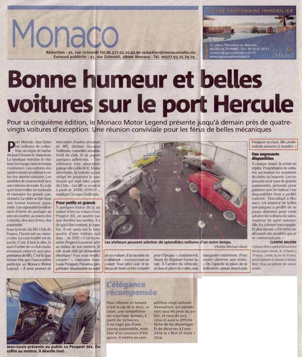Monaco Motor Legend du 28/02 au 02/03 2014 Monaco10