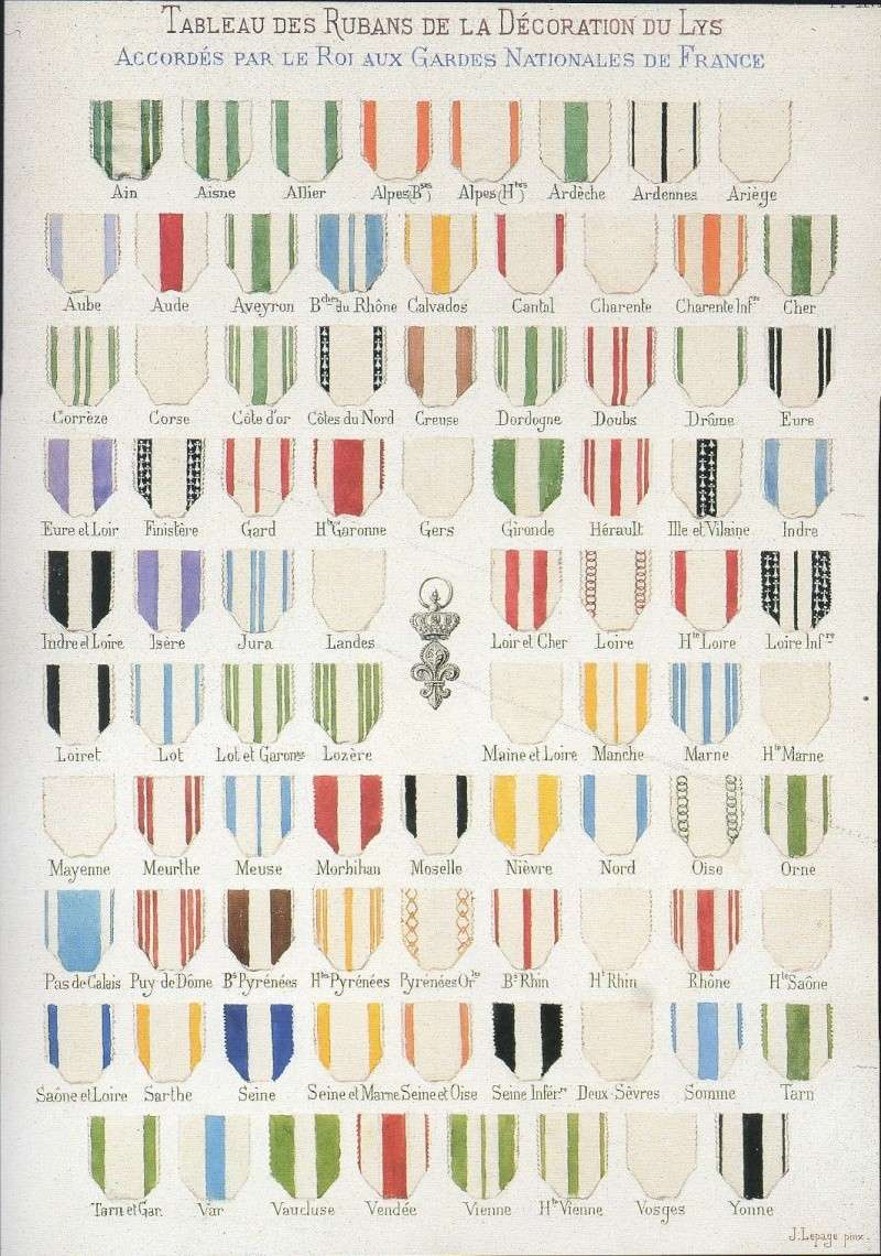 Légion d'Honneur et Ordre du Lys Restauration. Img21510