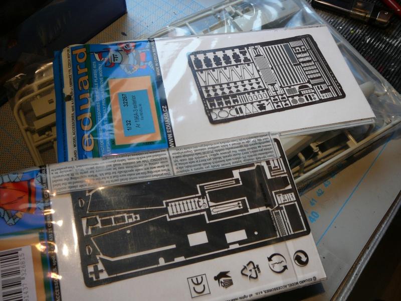 Neues Projekt nach der Bakteria: Revell Arado AR 196 A3 in 1:32 P1140921