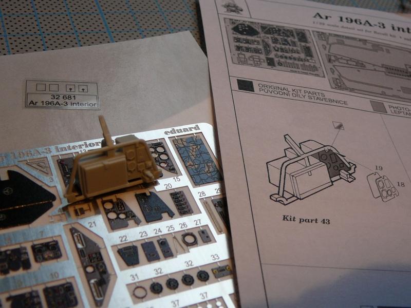 Neues Projekt nach der Bakteria: Revell Arado AR 196 A3 in 1:32 P1140923