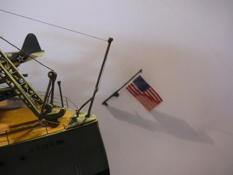 Vorstellung USS Arizona von Trumpeter in 1/200 P1150212