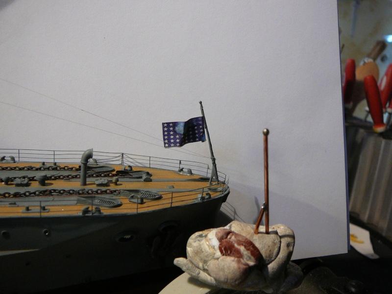 Vorstellung USS Arizona von Trumpeter in 1/200 P1150213