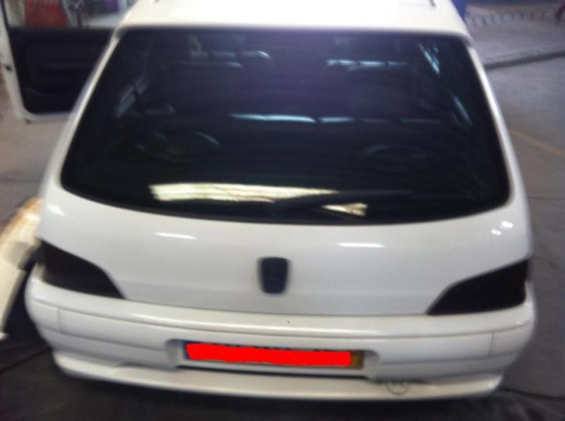 [ VENDIDO ] Pára-choques trazeiro - Peugeot 106 GTI 14634210