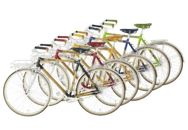 Vélo à base de Bamboo 12847410