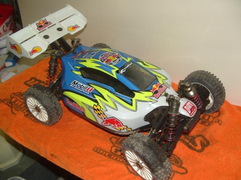 plus à vendre  TT 1/8 4*4 brushless ZRB RACING ZRB ONE complet 160 euros Dscf0010