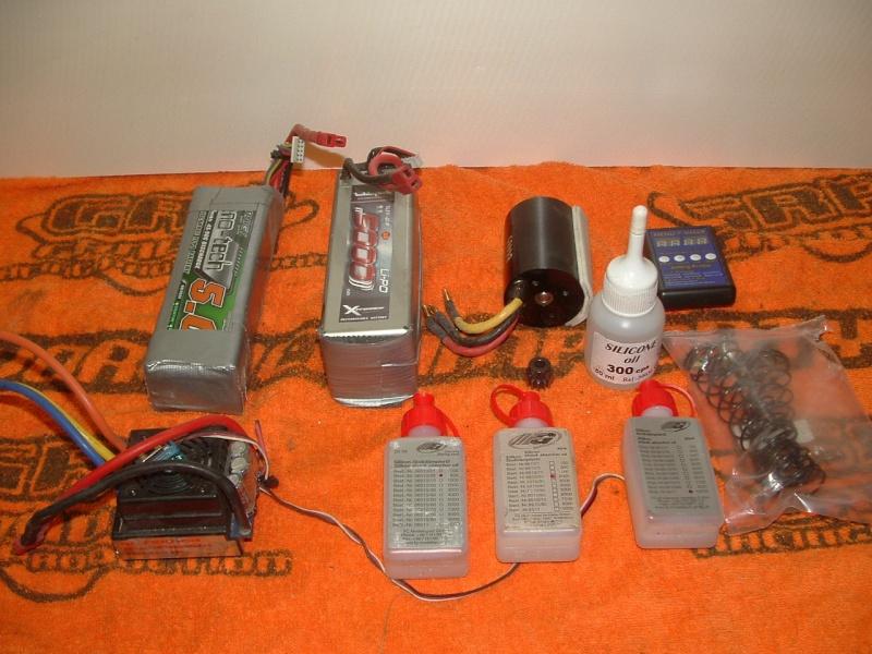 plus à vendre  TT 1/8 4*4 brushless ZRB RACING ZRB ONE complet 160 euros Dscf0012