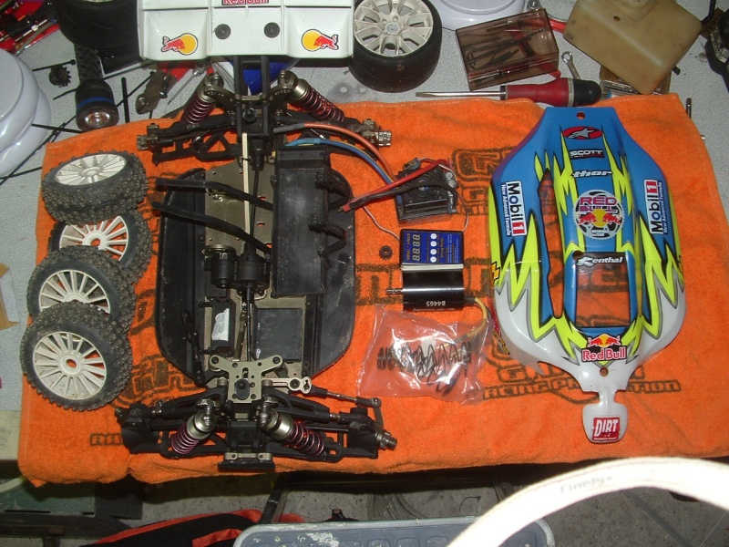 plus à vendre  TT 1/8 4*4 brushless ZRB RACING ZRB ONE complet 160 euros Dscf0015