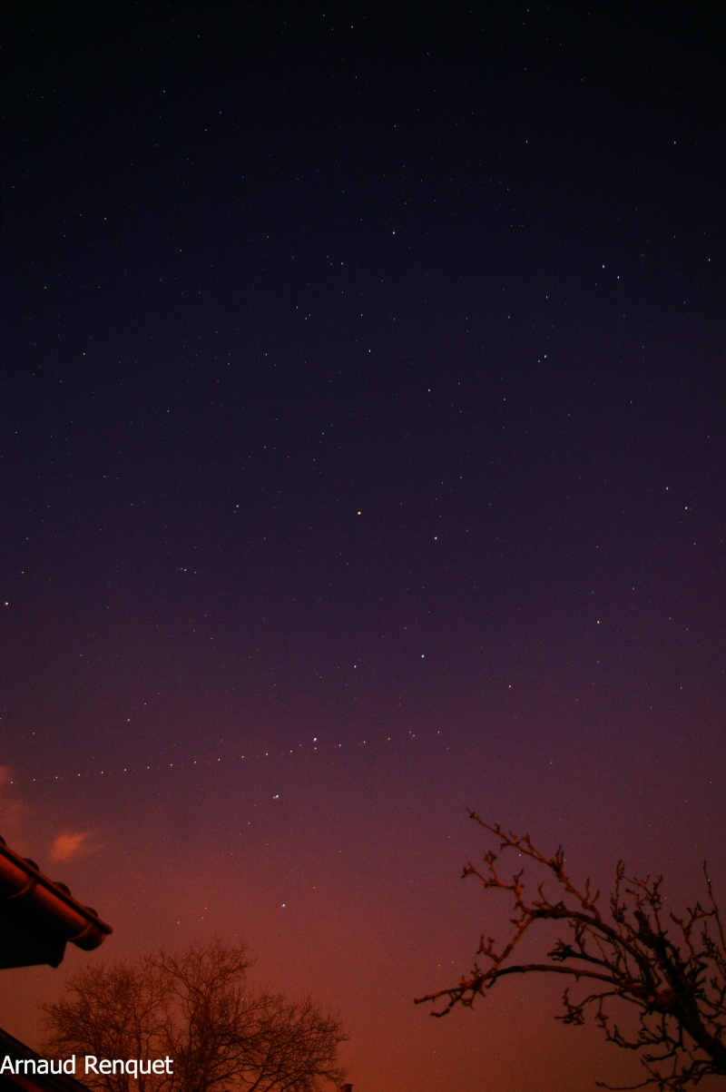 ciel de ce soir. Test410