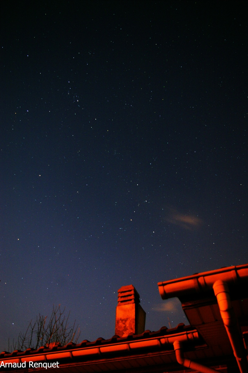 ciel de ce soir. Test811