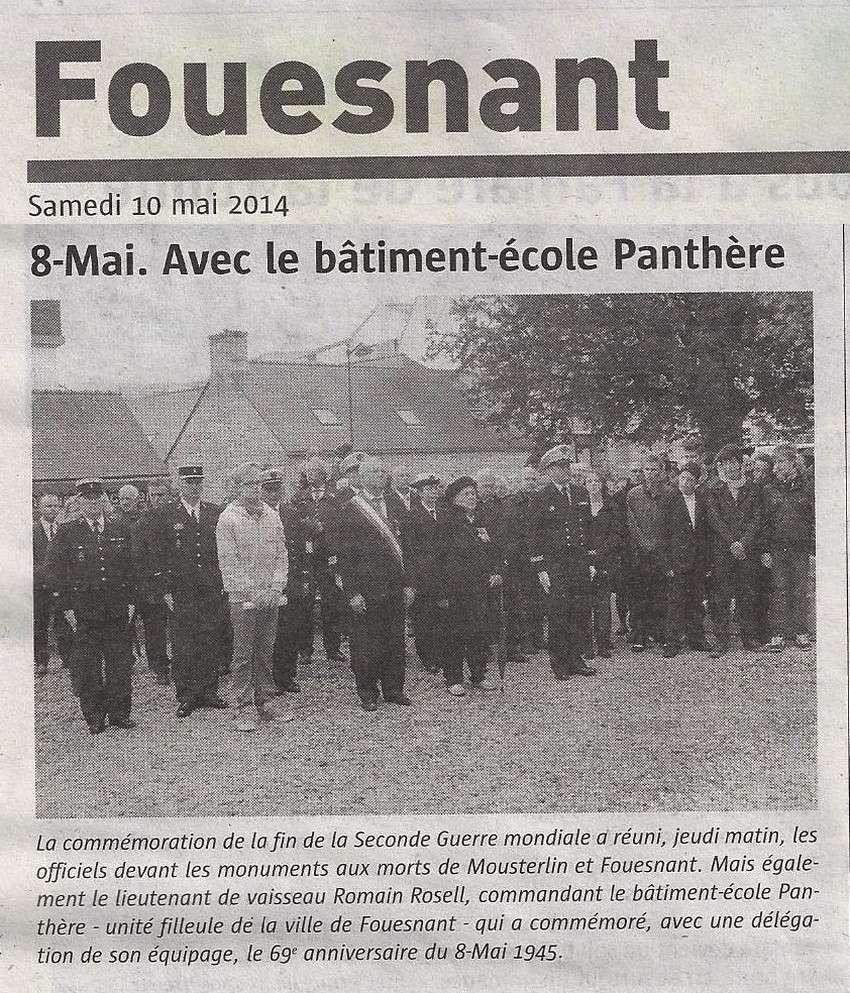 [ Histoires et histoire ] Commémoration du 8 mai 1945 à Fouesnant Scan1100