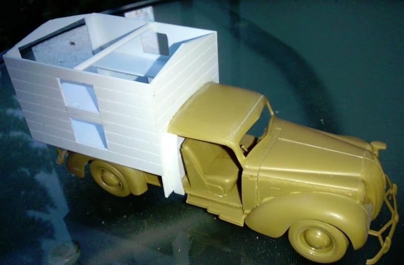 Opel ambulance 1/35  kit ICM et scratch  Nouvel10