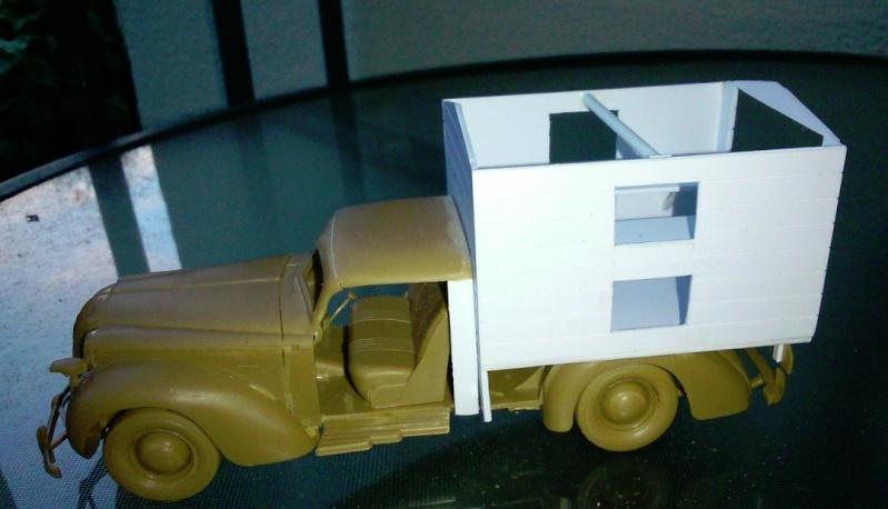 Opel ambulance 1/35  kit ICM et scratch  Nouvel11