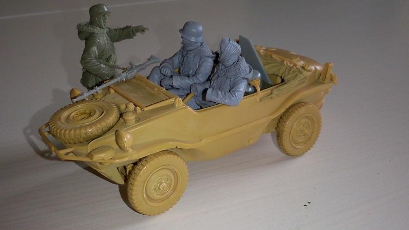 schwimmwagen Tamiya 1/35 fig. Evolution miniatures  S310