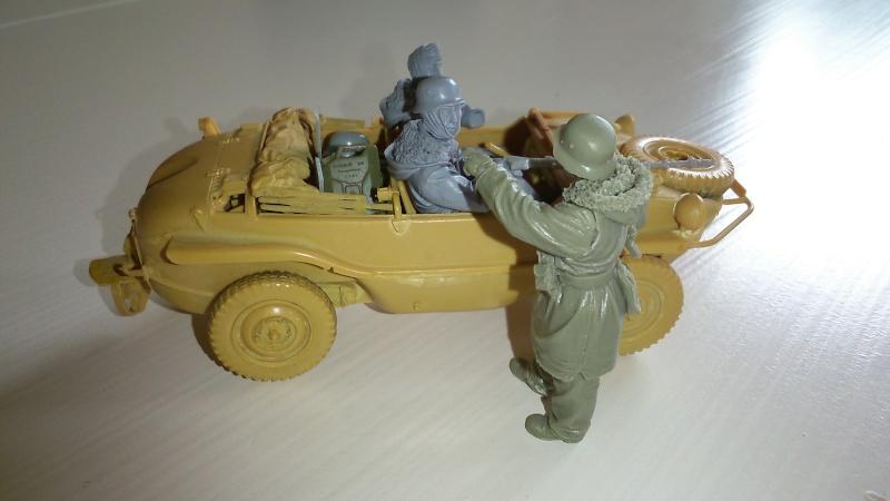 schwimmwagen Tamiya 1/35 fig. Evolution miniatures  S510