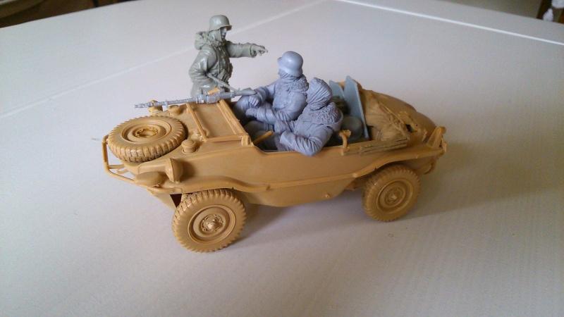schwimmwagen Tamiya 1/35 fig. Evolution miniatures  S710