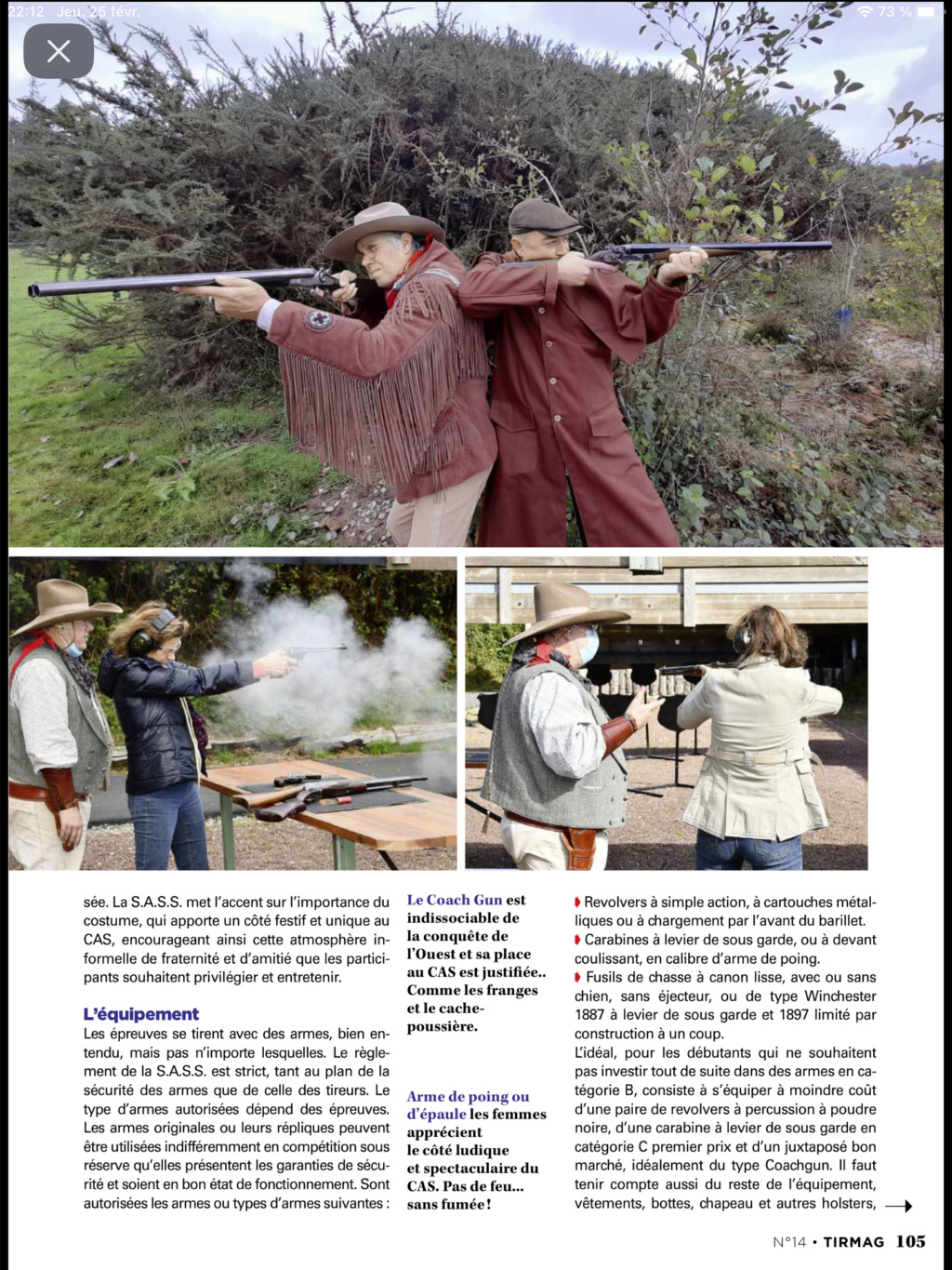 Cowboy Action Shooting - Old Pards Shooters - Portail 5c137710