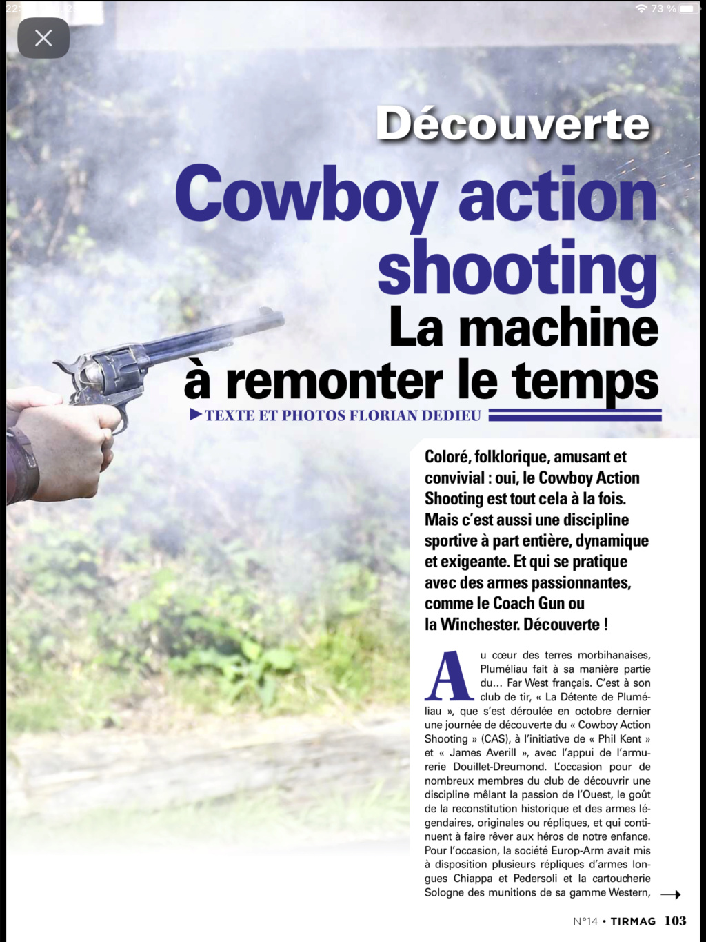 Cowboy Action Shooting OLD WEST FRENCH SHOOTERS - Portail Ca8c7210