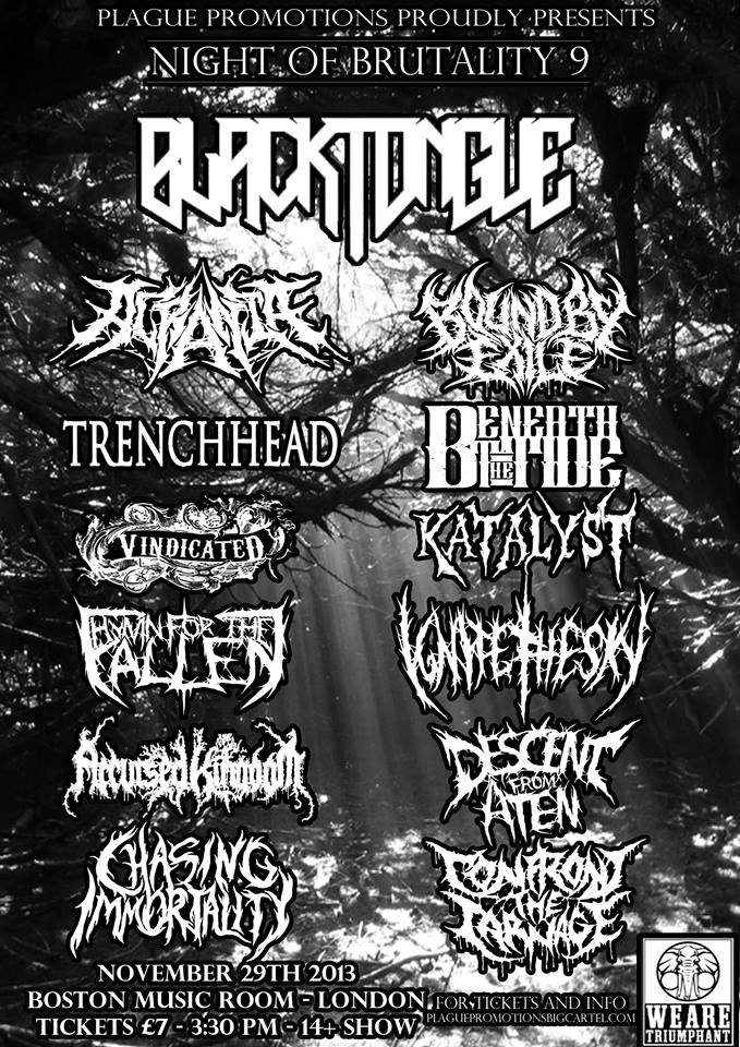 NIGHT OF BRUTALITY 9 (LIVE REVIEW) -- *November 29th 2013 Nob_9_10