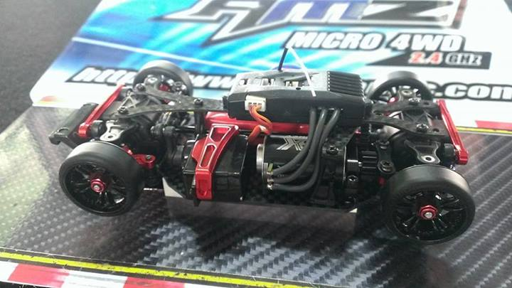 Chassis AMZ 4wd by Atomic !!! Awd10