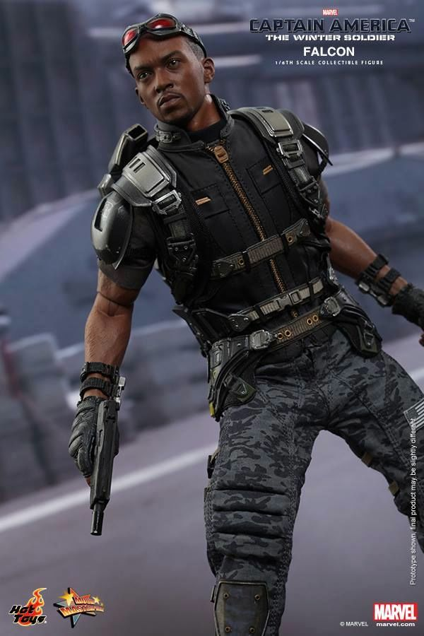 HOT TOYS - Captain America: The Winter Soldier - Falcon Mms24528