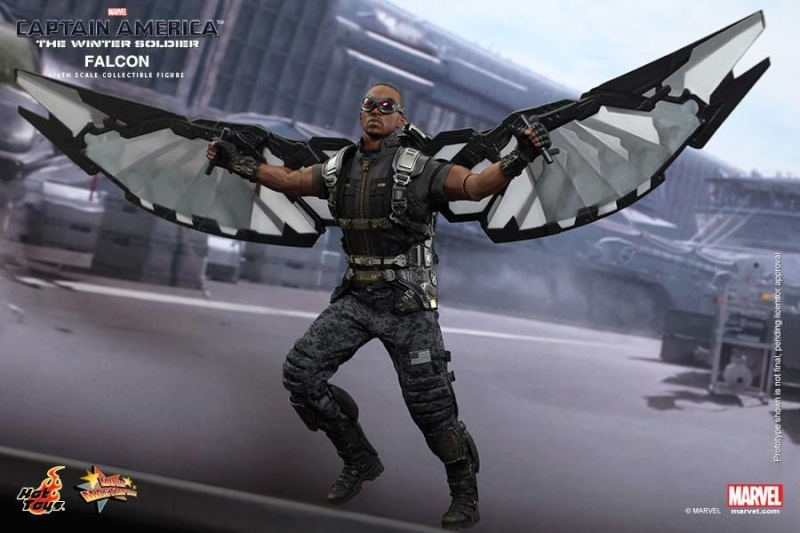 HOT TOYS - Captain America: The Winter Soldier - Falcon Mms24529