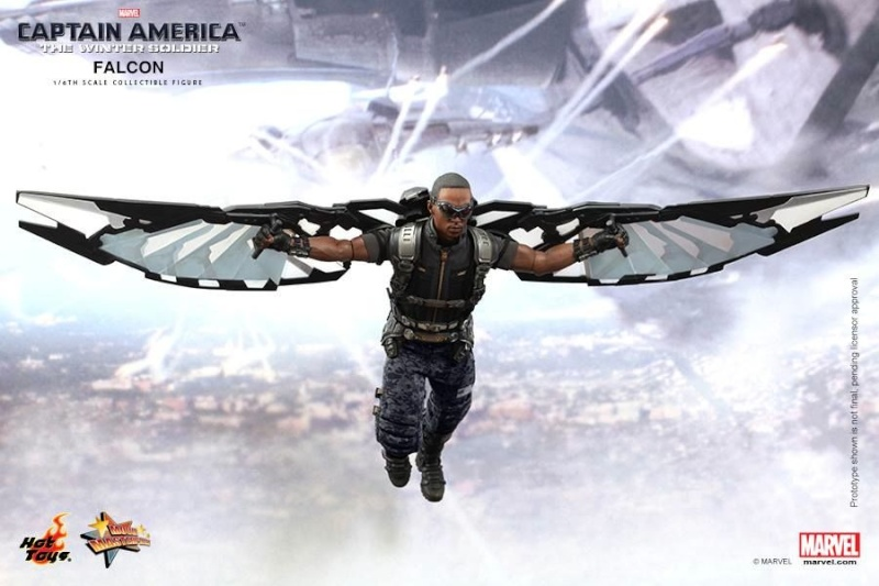 HOT TOYS - Captain America: The Winter Soldier - Falcon Mms24530