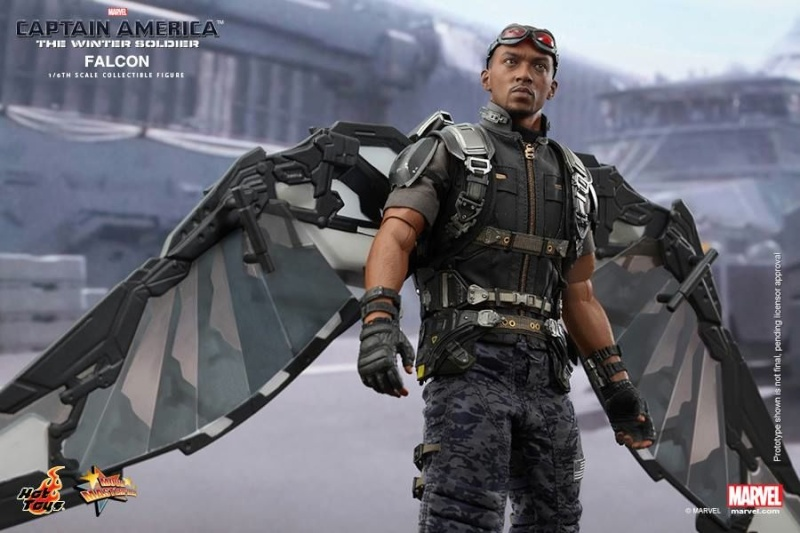HOT TOYS - Captain America: The Winter Soldier - Falcon Mms24533