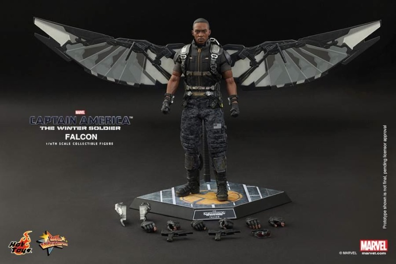 HOT TOYS - Captain America: The Winter Soldier - Falcon Mms24543