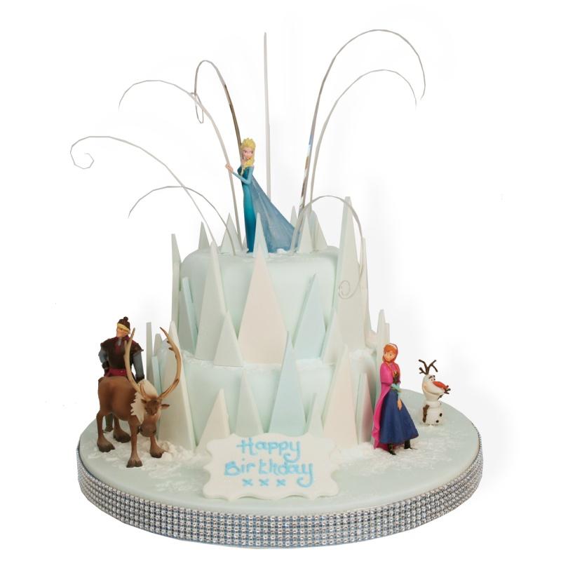 Gateau reine des neige, Frozen10