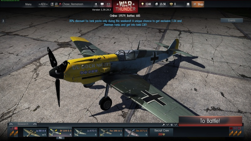 My war thunder hanger(Germany) Shot_212