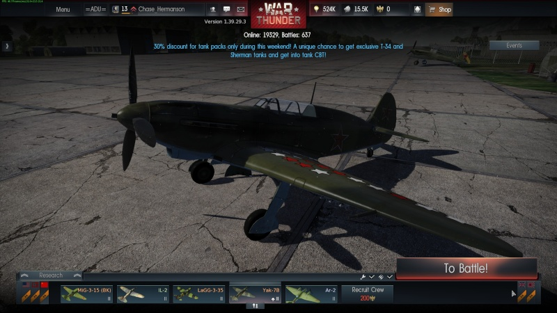 My war thunder hanger(USSR) Shot_213