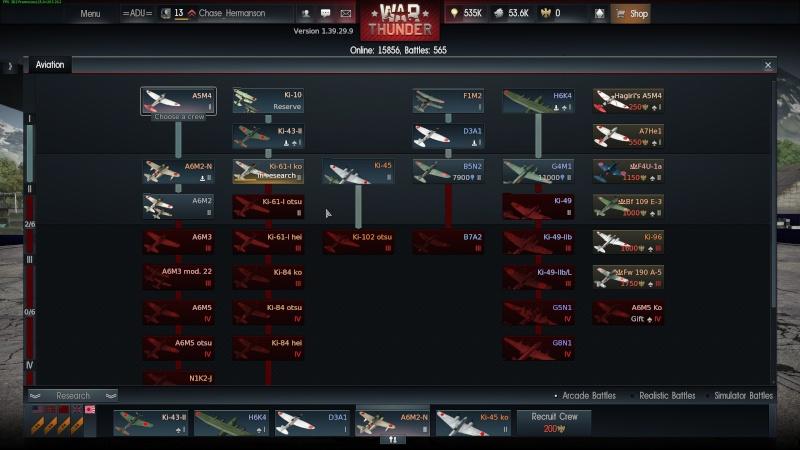My war thunder hanger(Japan) Shot_218