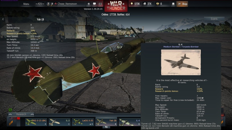 My war thunder hanger(USSR) Shot_222