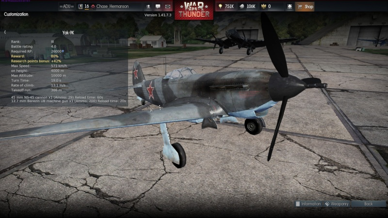 My war thunder hanger(Germany) Shot_244