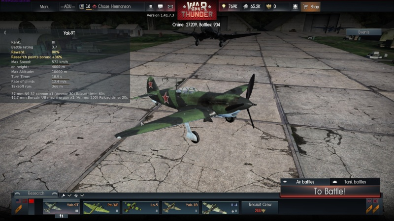 My war thunder hanger(USSR) Shot_247
