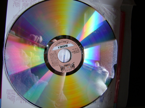 LASER DISC ORIGINALE : RACCOLTA DI SIGLE TV TOEI Laserd11