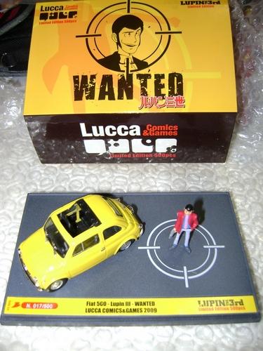LUPIN III: FIAT 500 LUCCA COMICS Lupin_10