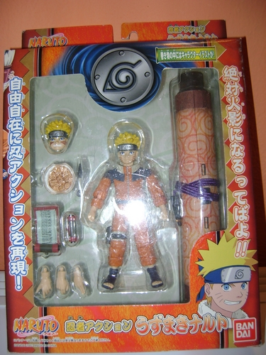 ACTION FIGURE NARUTO by BANDAI 2003 Naruto10