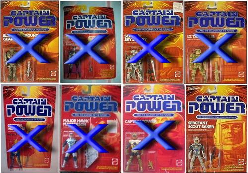 CERCO CAPITAN POWER e i COMBATTENTI DEL FUTURO ACTION FIGURE MATTEL Powero10