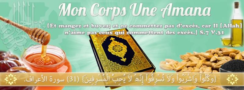 * Mon Corps Une Amana * (Forum sur l'alimentation et l'hygiène de vie) Bannie13