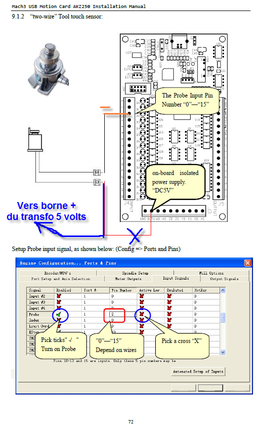 MACH3 carte USB AKZ250 posée, et testée... Tool-t10