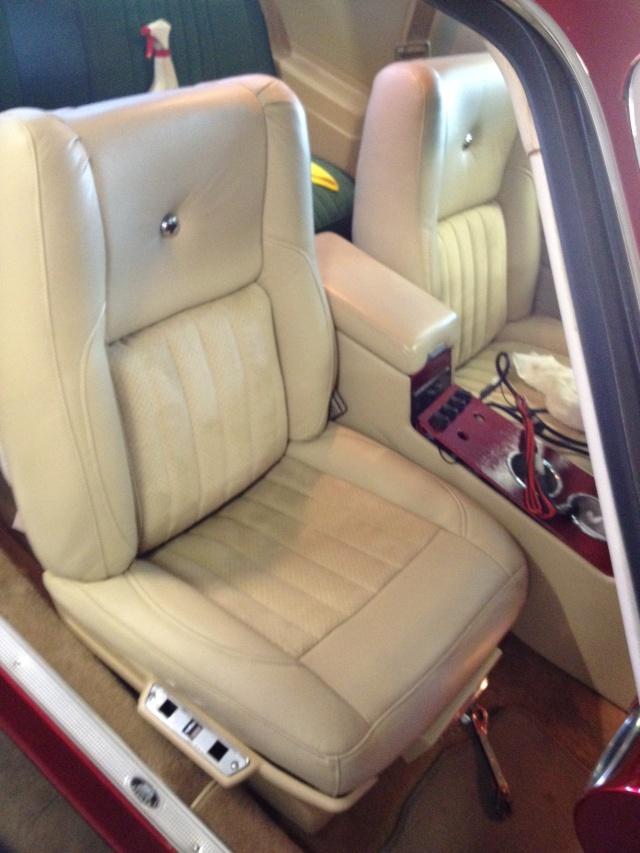 Camaro buckets into Malibu Seats_11