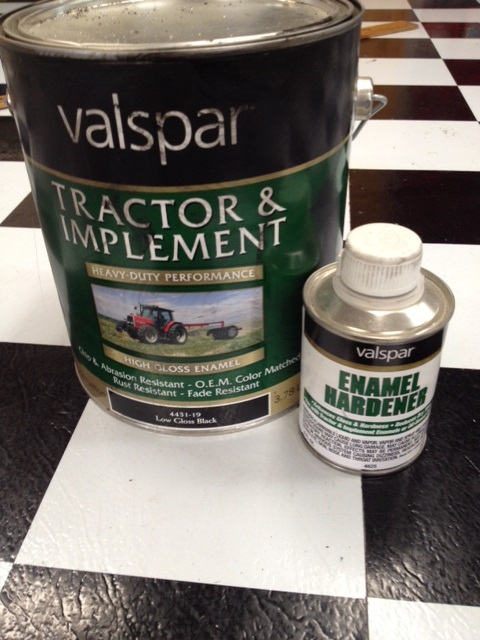 Painting fuel tank Valspa11