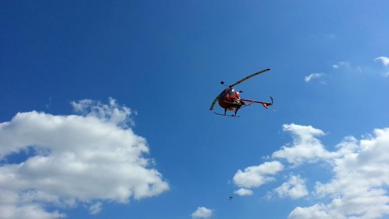 Photos tirées de la vidéo du vol d'hélicop de Pascal 20140411